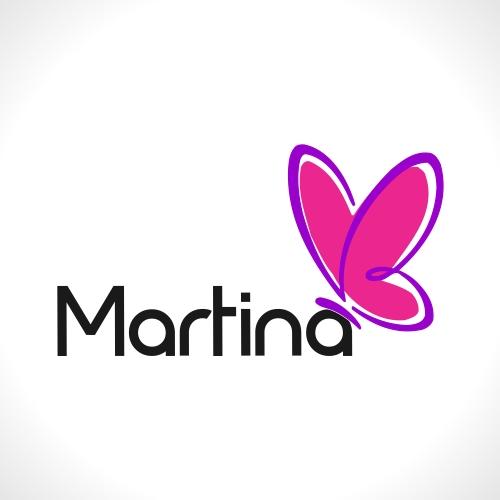 logo para logomarca martina bernardo 48515