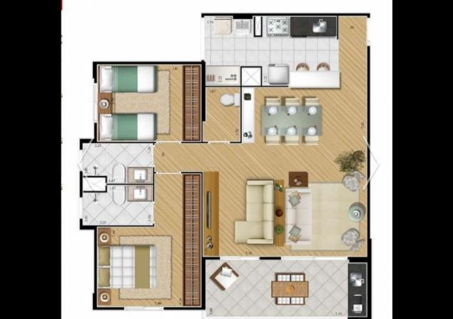 Apartamento Vila Andrade direto com proprietário - Luiz - 635x447_1084409039-Planta_MaisFlora.JPG