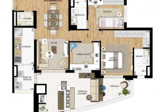 Apartamento Vila Mariana direto com proprietário - Daniel - 635x447_1310315738-lancamento-atrative-vila-mariana-planta-modelo-95-m2-opcao-home-office-18.jpg