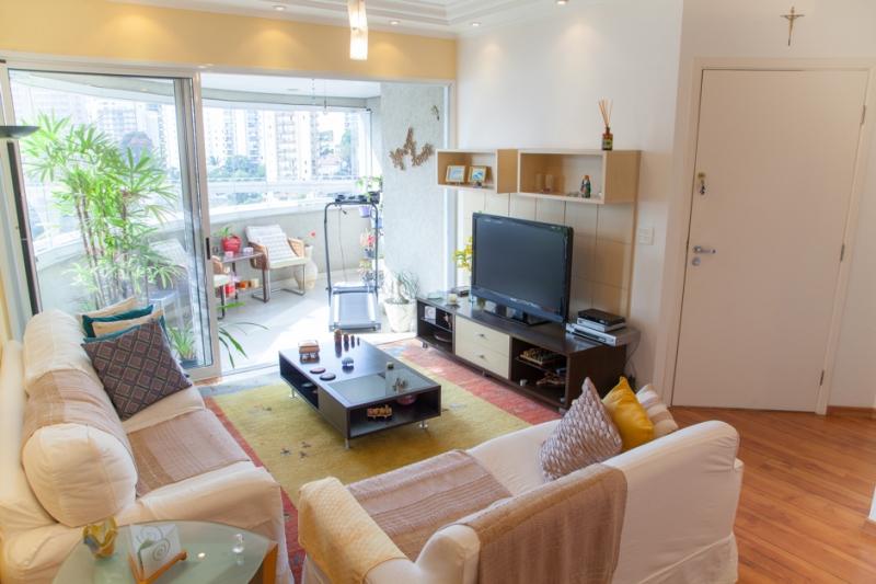 Apartamento à venda com 3 quartos e 105m² em Brooklin por R$1.300.000