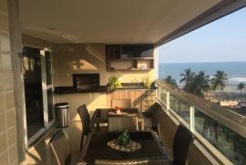 Apartamento à venda Vila Caiçara, Praia Grande - 697046541-1-varanda-gourmet.JPG
