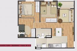 Apartamento à venda Jardim Ísis, Cotia - 842392499-pl.jpg