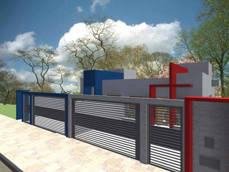 Casa à venda Portal dos Ipês II com 130m² e 3 quartos por R$ 435.000 - 802025042-maquete-casa-lirios-ii.jpg