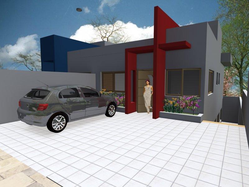 Casa à venda Portal dos Ipês II com 130m² e 3 quartos por R$ 435.000 - 805415491-maquete-casa-lirios-iii.jpg