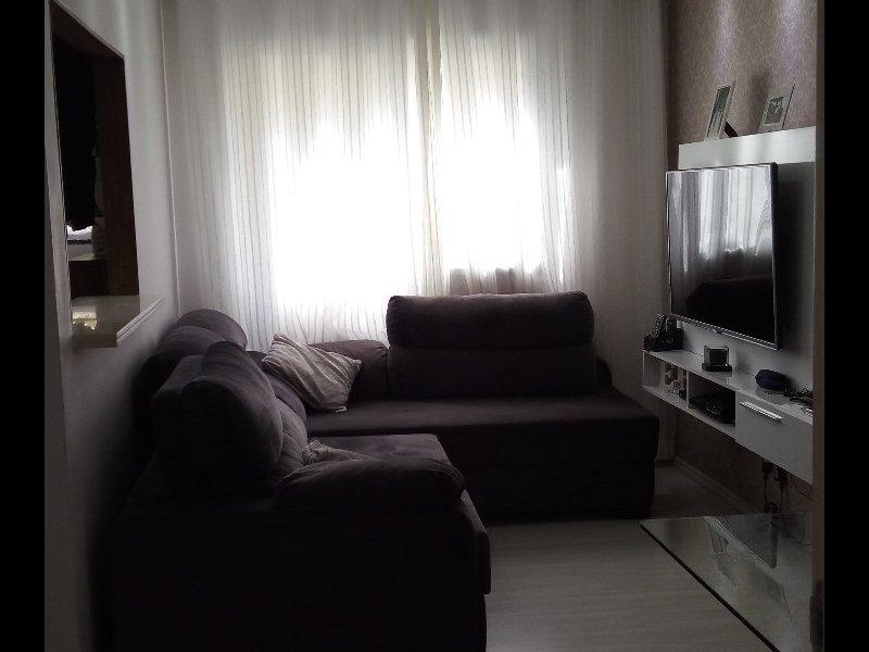 Apartamento à venda Jardim São Francisco (Zona Leste) com 47m² e 2 quartos por R$ 210.000 - 914693126-2-sala-1.jpeg