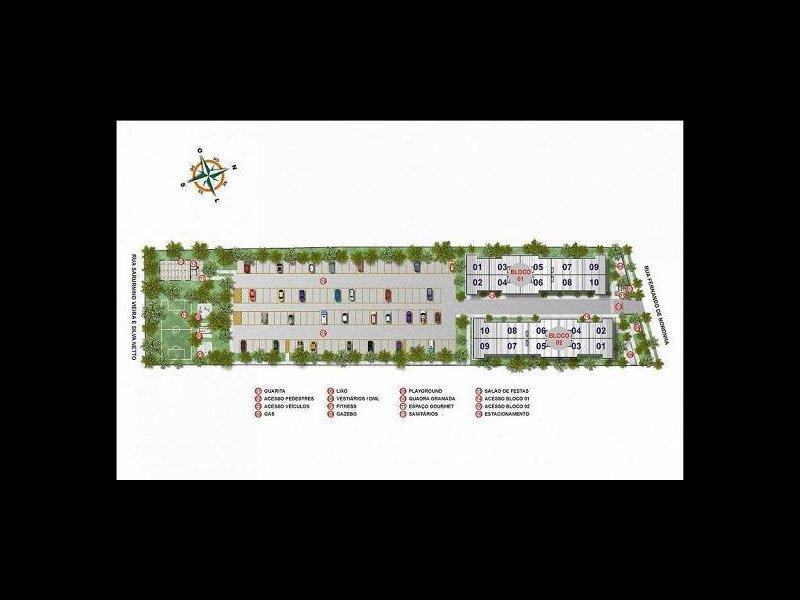Apartamento à venda Santa Candida com 50m² e 2 quartos por R$ 240.000 - 1542635763-4.jpg