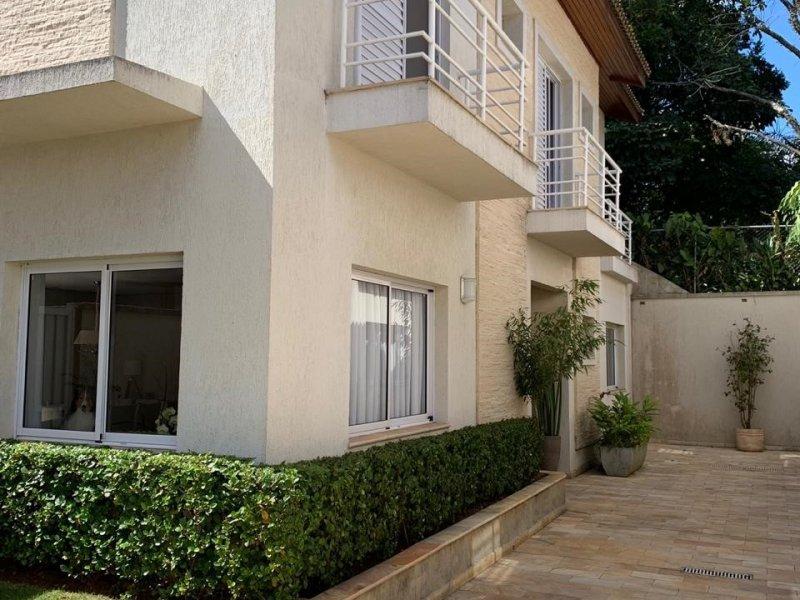 Casa de condomínio à venda Campo Belo com 480m² e 4 quartos por R$ 2.700.000 - 196333026-fachada-da-casa.jpg