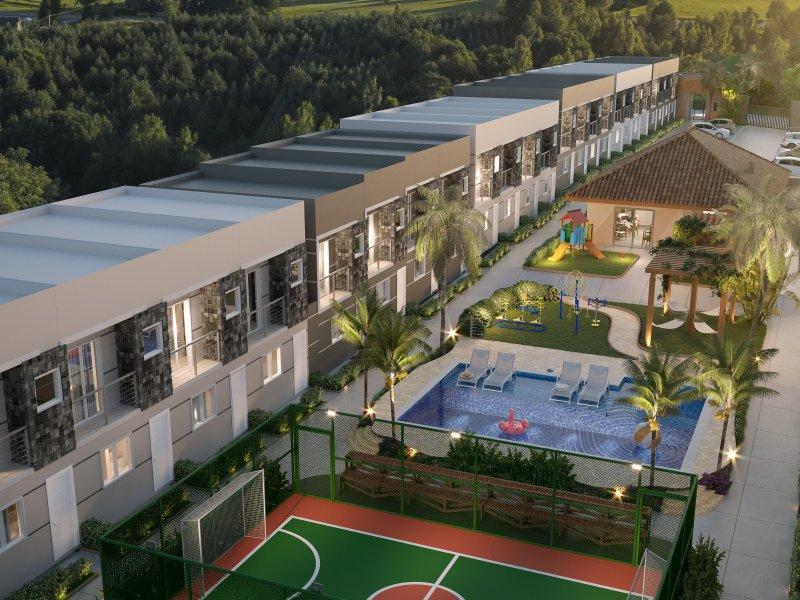 Casa de condomínio à venda Jardim Luciana com 63m² e 2 quartos por R$ 209.817 - 1008470908-ima-villagio-padova-voo-alta.jpg