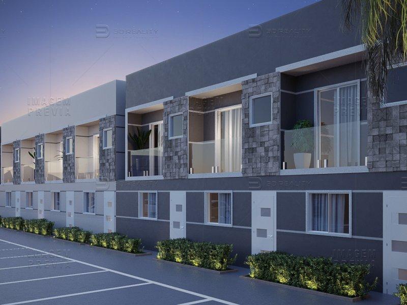 Casa de condomínio à venda Jardim Luciana com 63m² e 2 quartos por R$ 209.817 - 1421201414-ima-villagio-padova-fachada-r00.jpg
