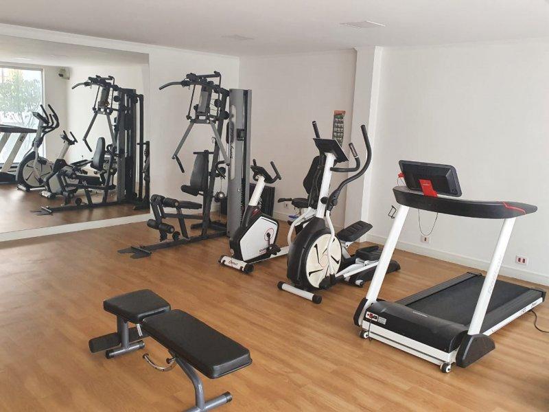 Apartamento à venda Brooklin com 113m² e 3 quartos por R$ 1.200.000 - 415213930-academia.JPG