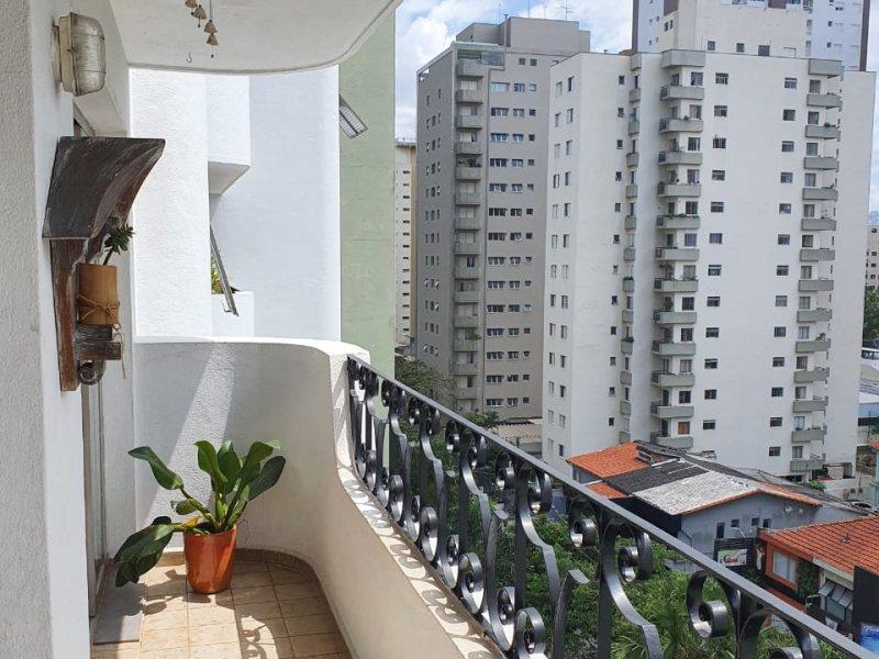 Apartamento à venda Brooklin com 113m² e 3 quartos por R$ 1.200.000 - 652963056-terraco.JPG