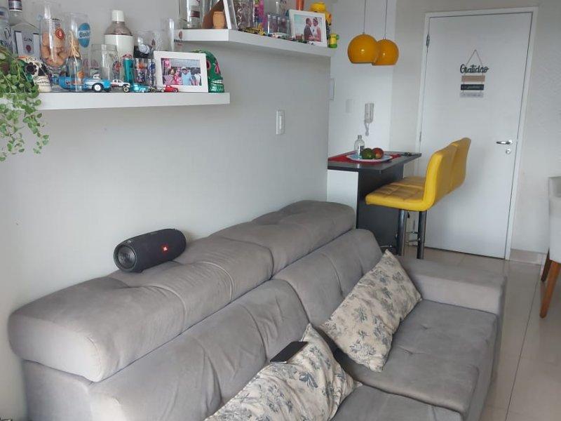 Apartamento à venda Tatuapé com 60m² e 2 quartos por R$ 502.000 - 385749302-sala-2.jpeg