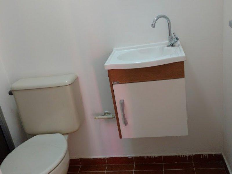 Apartamento à venda Cangaíba com 49m² e 2 quartos por R$ 219.500 - 2123510739-banheiro.jpg