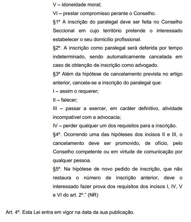 PL 5749/13 - Câmara aprova profissão de paralegal a não aprovados na OAB