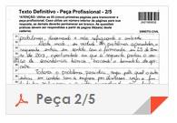 XV Exame OAB - Peça - Direito Administrativo - folha 2