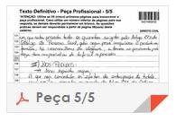 XV Exame OAB - Peça - Direito Administrativo - folha 5