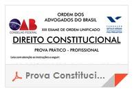 XIII Exame OAB - Prova Direito Constitucional