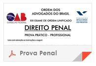 XV Exame OAB - Prova Direito Penal