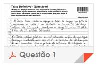 XV Exame OAB - Questão Dissertativa - Direito Administrativo - 1