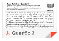 XV Exame OAB - Questão Dissertativa - Direito Administrativo - 3