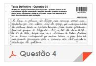 XV Exame OAB - Questão Dissertativa - Direito Administrativo - 4