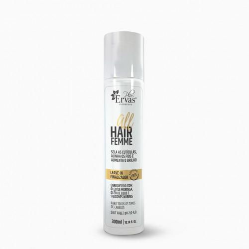 Leave-in Finalizador All Hair Femme – Home Care de 300g
