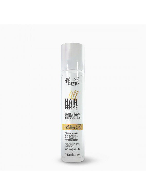 Leave-in Finalizador All Hair Femme – Home Care de 300g