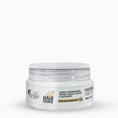 Máscara Hidratante All Hair Femme – Home Care de 300g