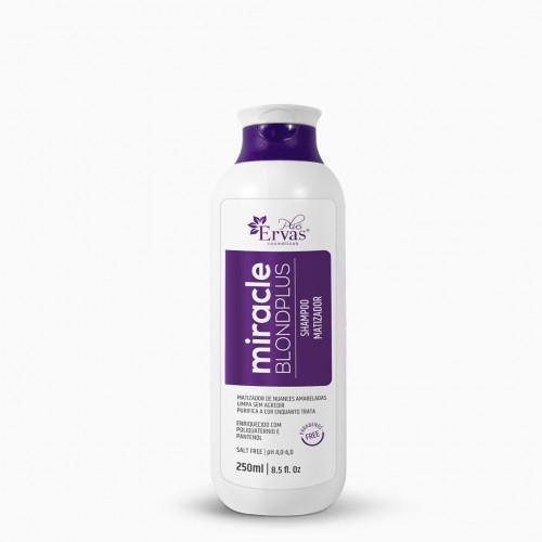 Shampoo Matizador Blond Plus Miracle – Home Care de 250g