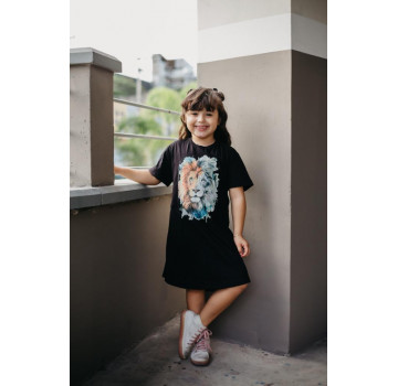 (LIBERAÇÃO 6D) Vestido infantil