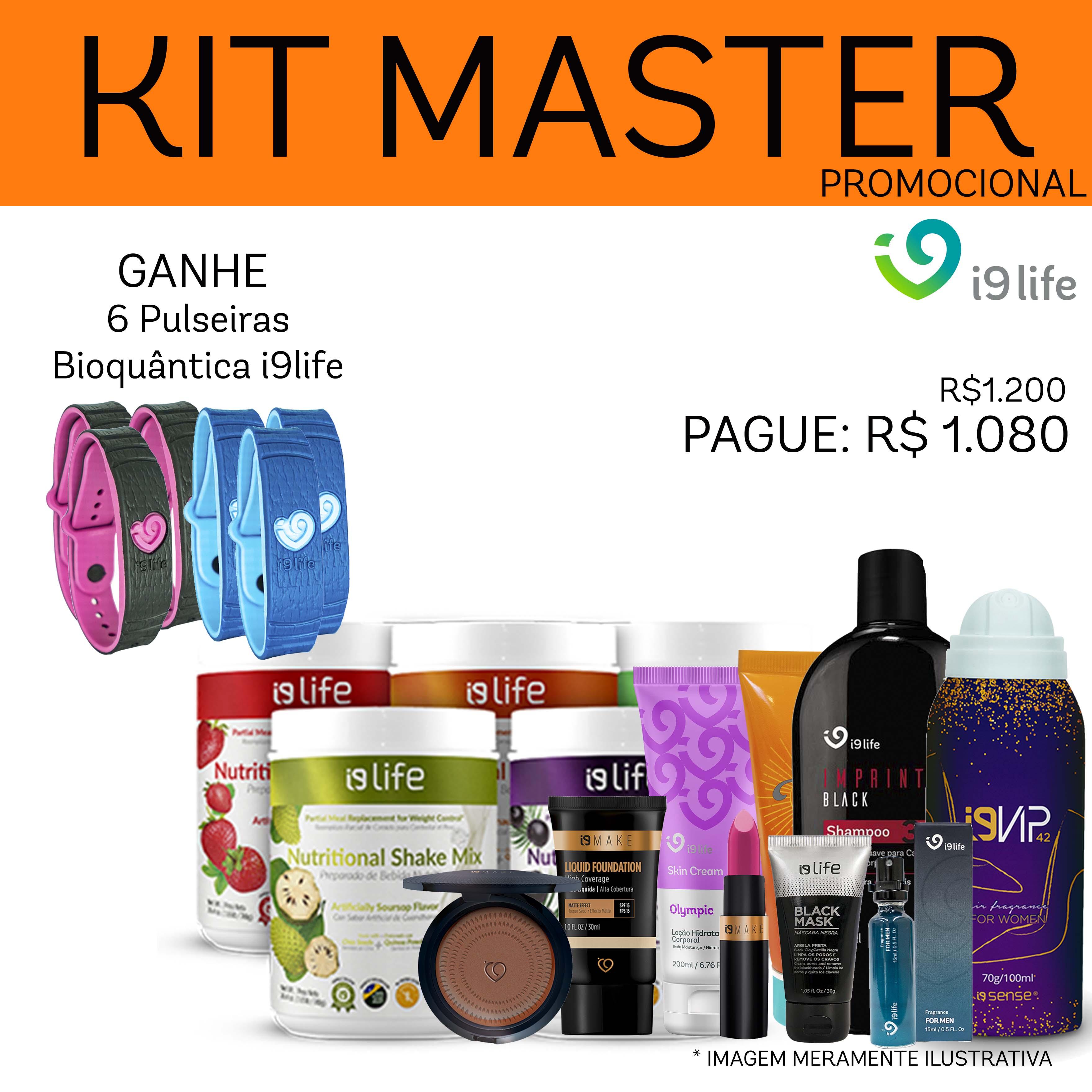 Fazer o Cadastro na I9life Global com Kit Master 4