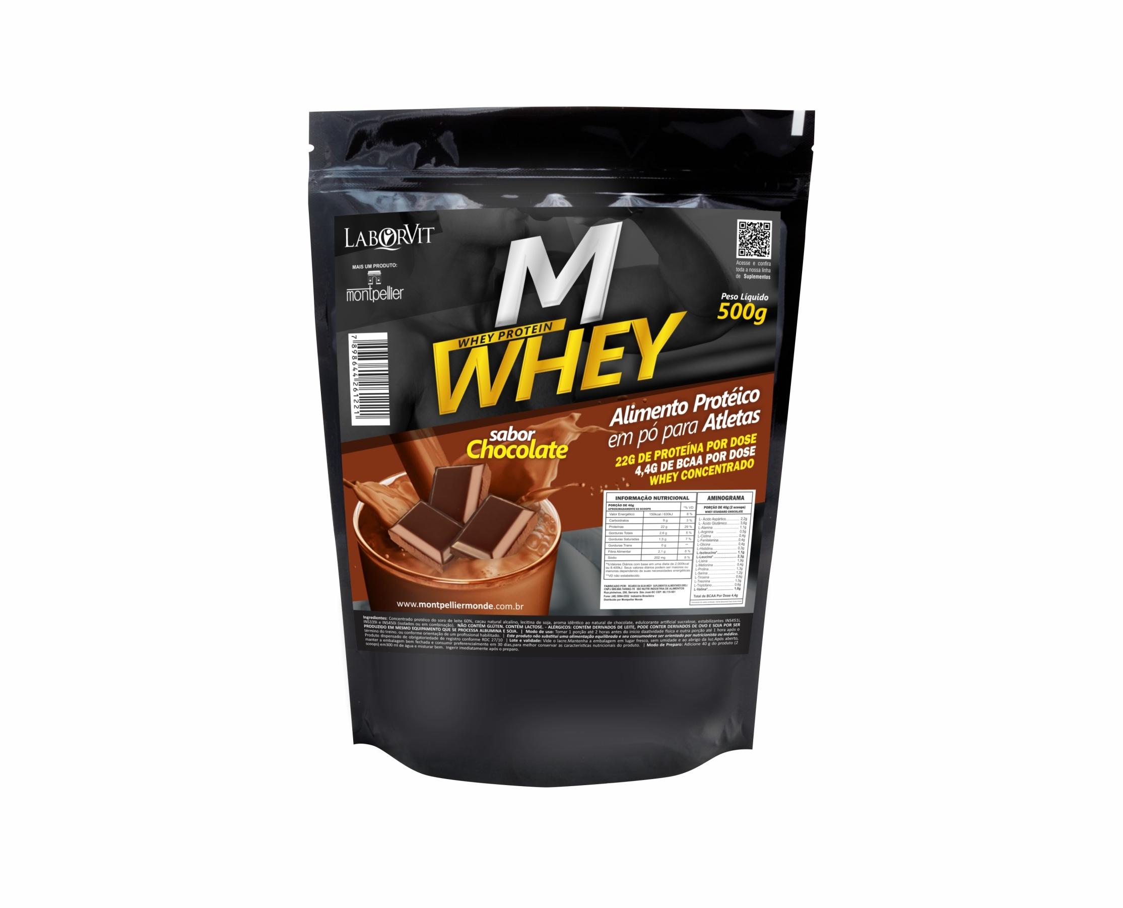 M WHEY PROTEIN CHOCOLATE