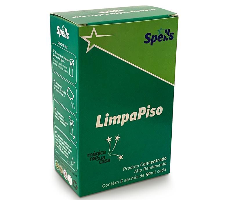 LIMPA PISO (caixa com 5 saches - rende 5 litros ou mais)