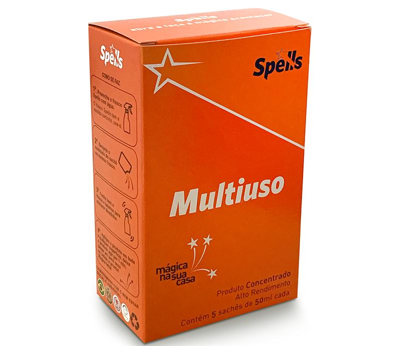 MULTIUSO (caixa com 5 saches - rende 5 litros ou mais)