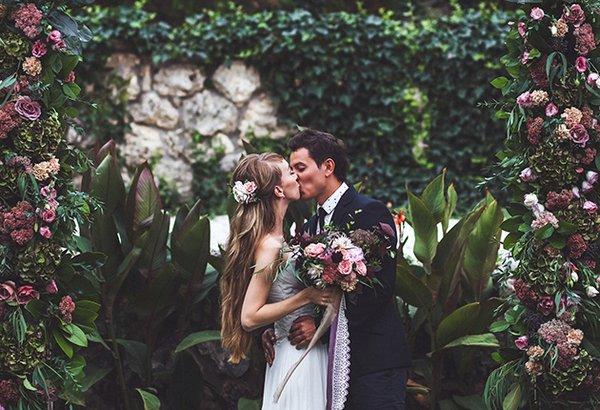 Definindo a paleta de cores do casamento