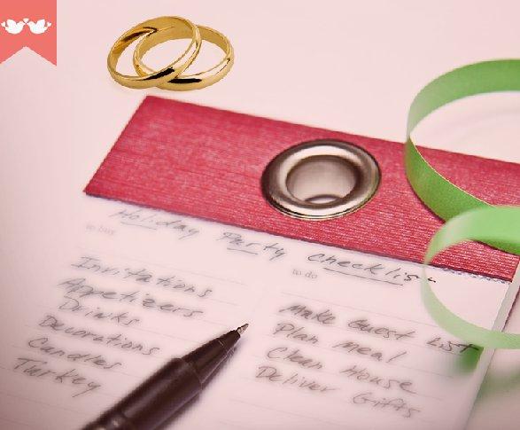 Preparativos: 10 meses para o casamento
