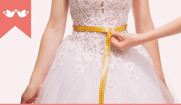 Em forma para o dia do casamento