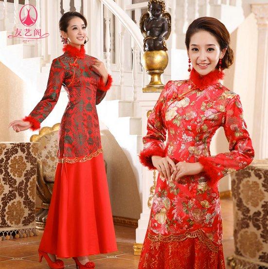 Vestidos de noiva vermelho pode?