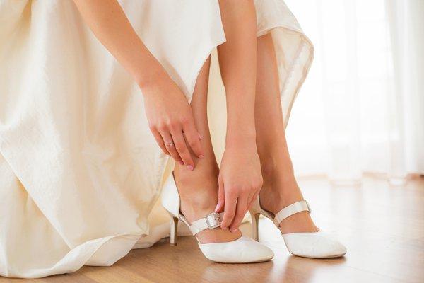 Sapato de noiva. Os modelos ideais para cada tipo de casamento.
