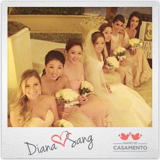 Nossos casamentos Diana e Sang