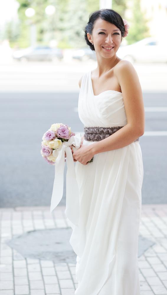 vestido de casamento grego