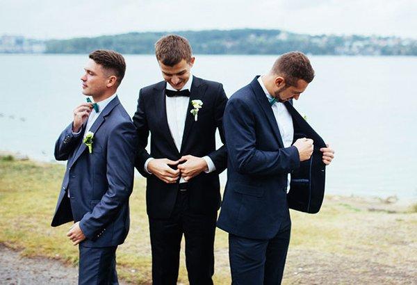 O terno do noivo. Veja quais são as opções para o grande dia.