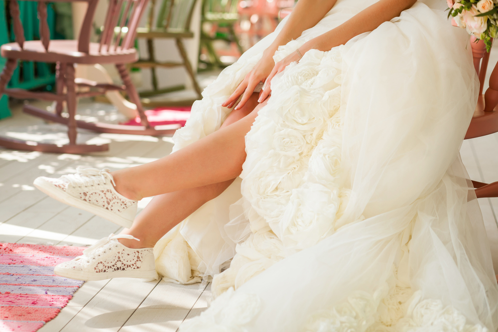 588d1bdef Se não está acostumada a usar salto alto, por exemplo, fazer opções por  sapatos com saltos mais baixos, médios e grossos, como as anabelas e  sapatilhas, ...
