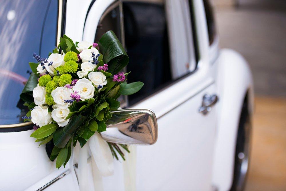 carro de casamento