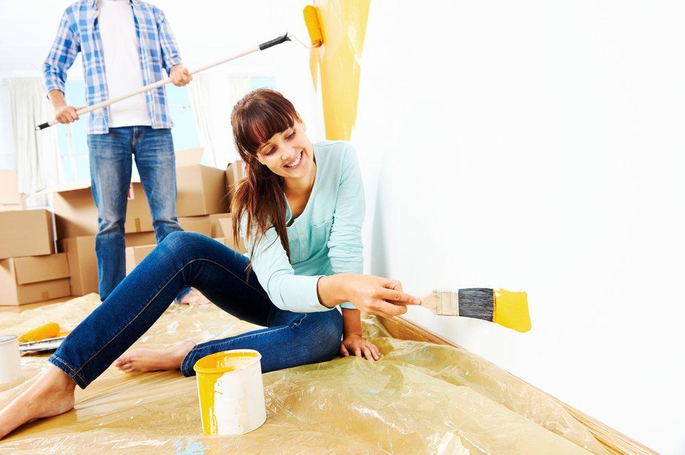 pintando casa a dois