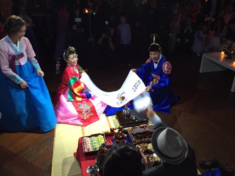 casamento coreano