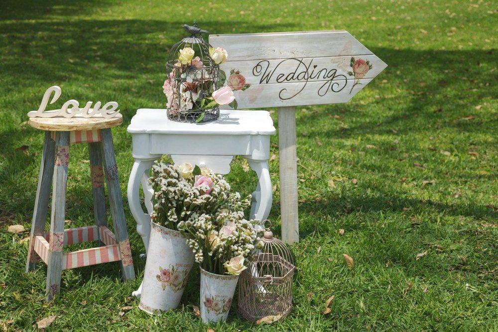 tendência casamento decoração