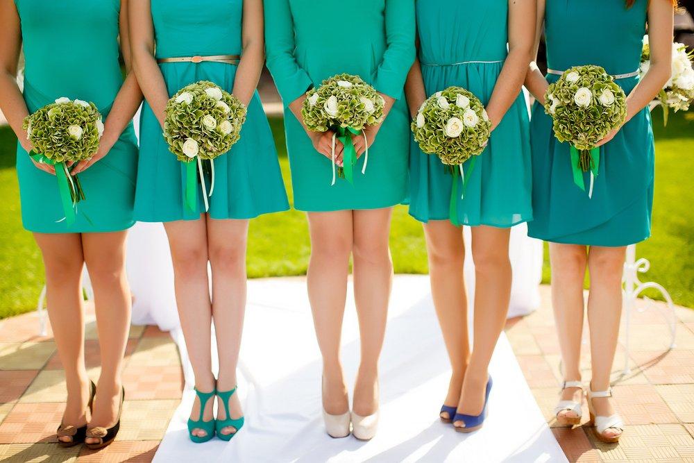 vestido madrinha verde