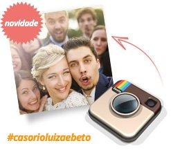 Quero de Casamento Integração com o Instagram