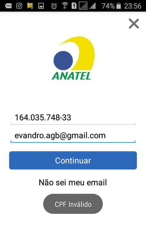 Reclame Aqui > ANATEL - Agência Nacional de Telecomunicações